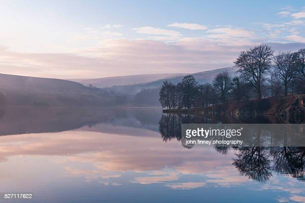 Errwood Reservoir, Goyt valley. English Peak District. UK. Europe.