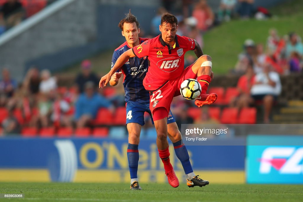A-League Rd 11 - Newcastle v Adelaide