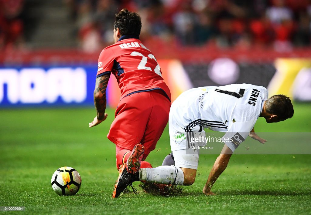 A-League Rd 25 - Adelaide v Wellington : News Photo