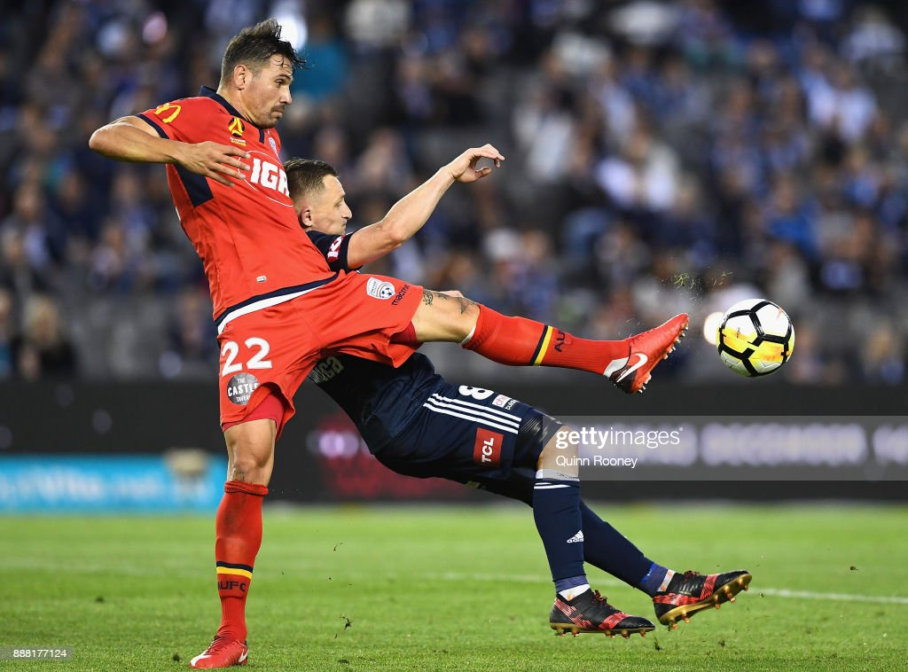 A-League Rd 10 - Melbourne v Adelaide
