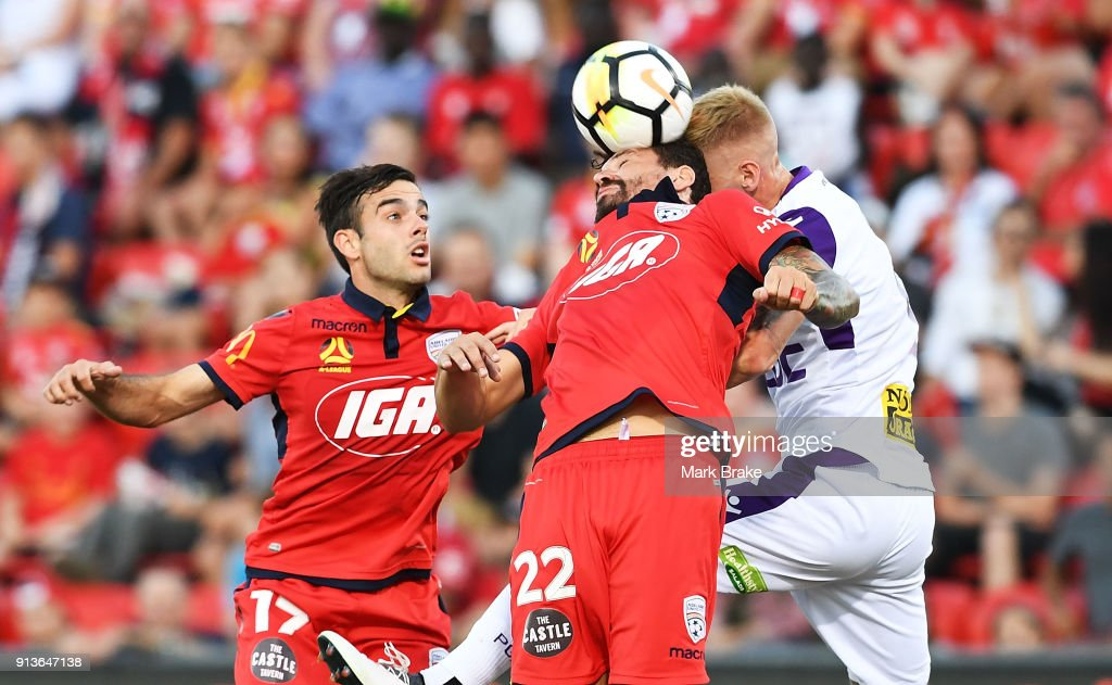 A-League Rd 19 - Adelaide v Perth