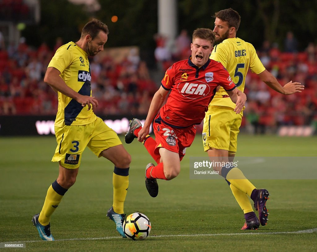 A-League Rd 12 - Adelaide v Central Coast