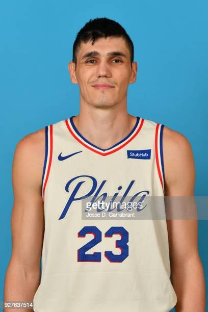 Ersan Ilyasova of the Philadelphia 76ers poses for a head shot on March 2 2018 at the Wells Fargo Center in Philadelphia Pennsylvania NOTE TO USER...