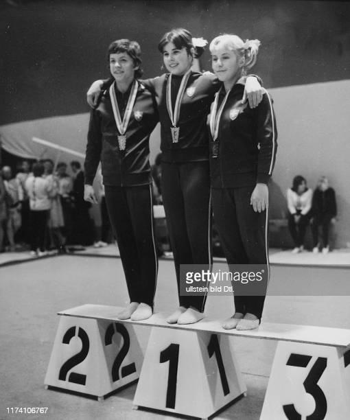 Erste Schweizer Meisterschaft 1972: Siegerin Käthi Fritschi