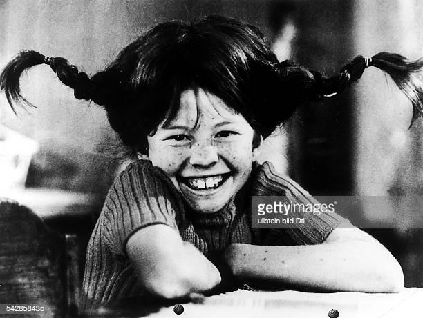 Erster Film der Serie von Kinofilmennach den Romanen der schwedischenKinderbuchautorin Astrid LindgrenPippi Langstrumpf Regie Olle HellbomSchweden /...