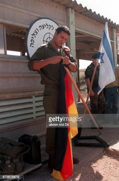 Erstmalig besuchen Angehörige der deutschen Bundeswehr in offizieller Mission den Staat Israel 17 Offiziersanwärter besuchen ein Trainingslager der...