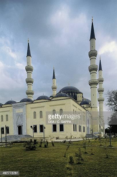 Ertugrul Gazi mosque Ashgabat Turkmenistan