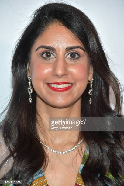 Erum Chaudhry attends the Hollywood Beauty Awards at Avalon Hollywood on February 17 2019 in Los Angeles California