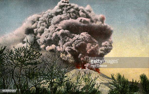 Eruption of Vesuvius Italy April 1906 Vesuvius underwent a major eruption in 1906 that killed over 100 people
