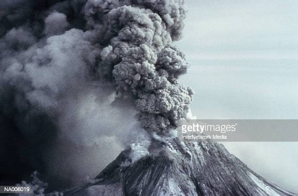 eruption of volcano - volcanic terrain stock pictures, royalty-free photos & images