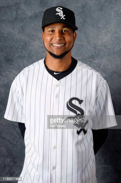 Ervin Santana of the Chicago White Sox poses during Photo Day on Friday March 8 2019 at Camelback Ranch in Glendale Arizona