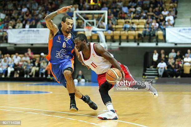 Erving Walker of Strasbourg during the Final match between Strasbourg and Gravelines Dunkerque at Tournament ProStars at Salle Arena Loire on...