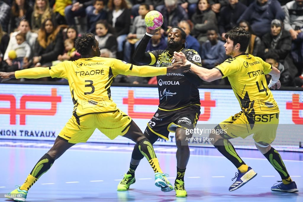 Tremblay v Chambery - Lidl Starligue : News Photo