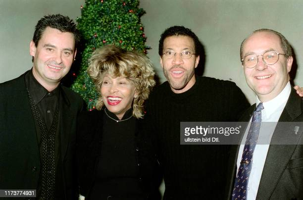 Erwin Bach, Tina Turner, Lionel Richie and Elias Fröhlich
