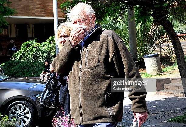 Erwin Poppinger at the Alberton Magistrates Court on September 20, 2011 in Johannesburg, South Africa where he was granted R10 000 bail for charges...