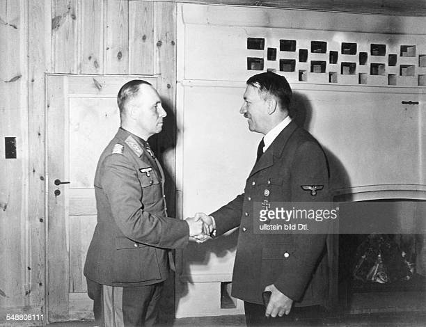 Erwin Rommel *18911944 Officer Field Marshal germany commander of the german africa corps Feb41March43 commander of army group B for italy and...
