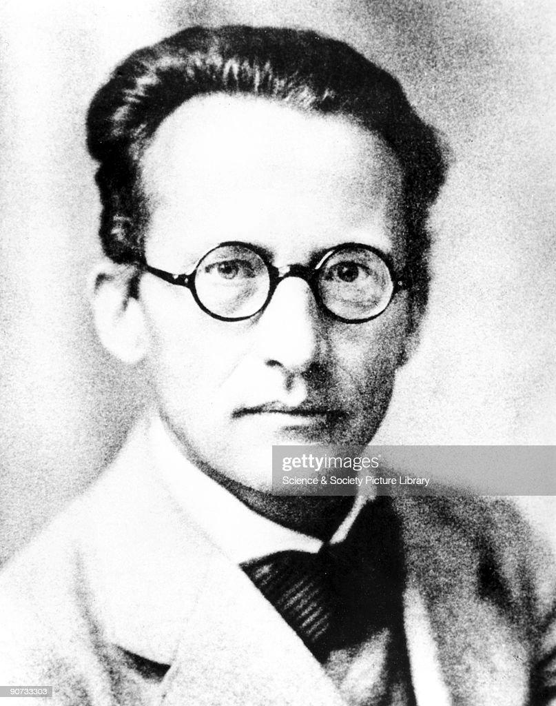 Erwin Schrodinger, Austrian physicist, 1933. : News Photo