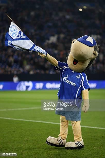 Erwin the mascot for Schalke 04