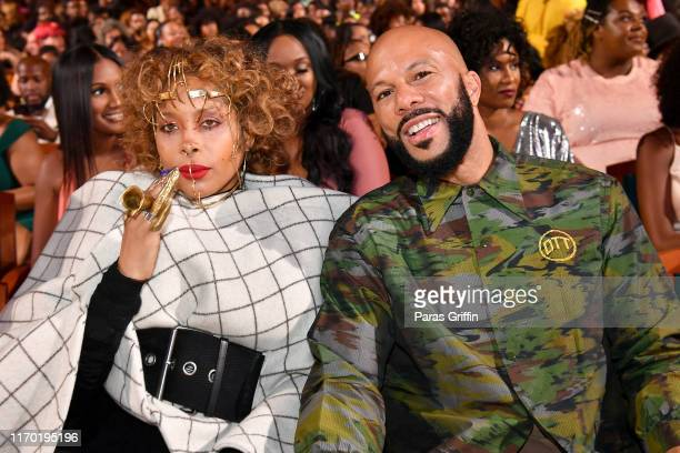 Erykah Badu and Common attend Black Girls Rock 2019 Hosted By Niecy Nash at NJPAC on August 25, 2019 in Newark, New Jersey.
