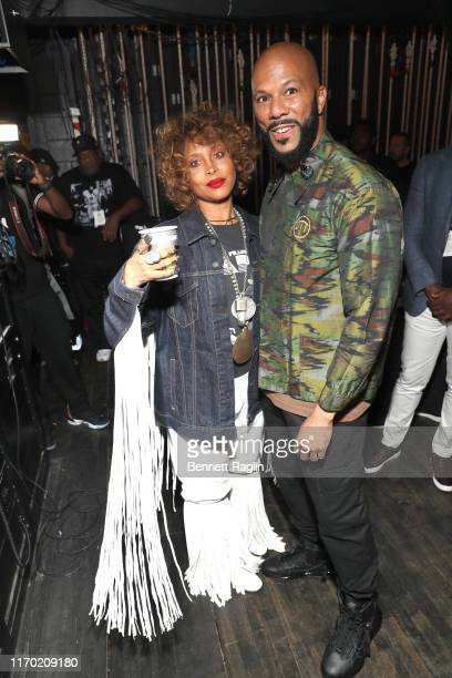 Erykah Badu and Common attend Black Girls Rock 2019 Hosted By Niecy Nash at NJPAC on August 25 2019 in Newark New Jersey