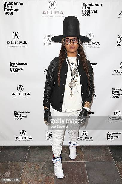 Erykah Badu attends the Acura Studio at Sundance Film Festival 2016 on January 26 2016 in Park City Utah