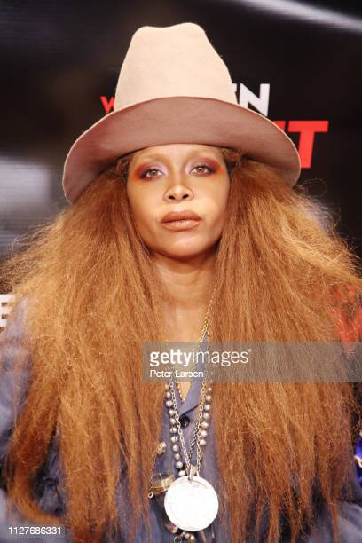Erykah Badu attends the Dallas special screening of Paramount Pictures' film 'What Men Want' at AMC North Park 15 on February 05 2019 in Dallas Texas