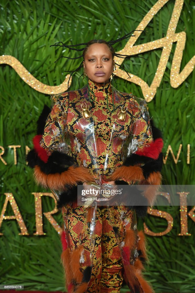 Erykah Badu attends The Fashion Awards 2017 in partnership with Swarovski at Royal Albert Hall on December 4, 2017 in London, England.