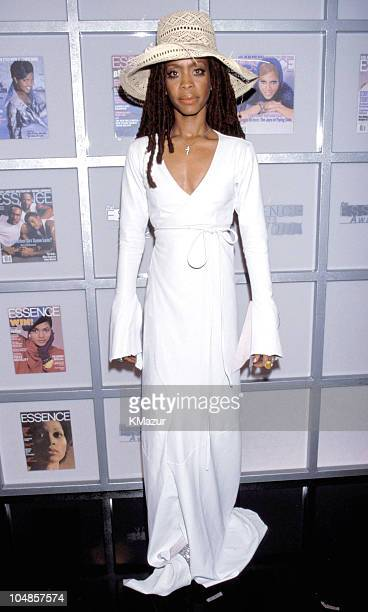 Erykah Badu during Essence Awards 2000 to be aired on Fox TV on May 25 2000 at Radio City Music Hall in New York City New York United States
