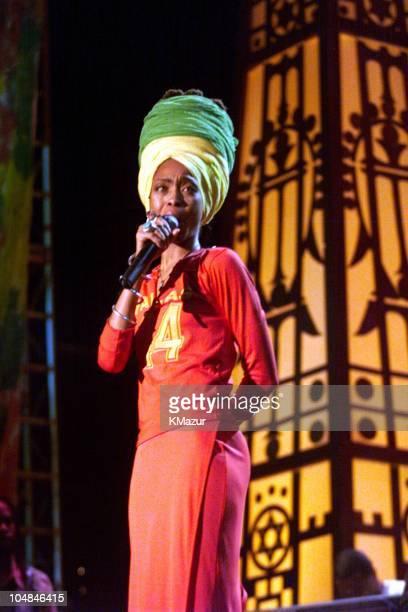 Erykah Badu during One LoveThe Bob Marley Tribute in Oracabessa Beach Jamaica
