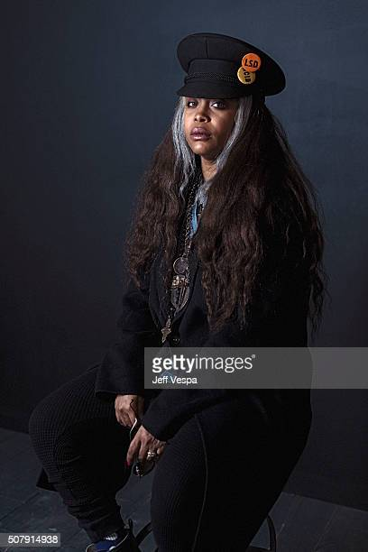 Erykah Badu of 'The Land' poses for a portrait at the 2016 Sundance Film Festival on January 25 2016 in Park City Utah