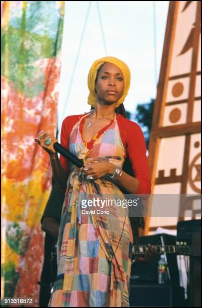 Erykah Badu performing at One Love Bob Marley Festival Oracabessa Jamaica December 4 1999