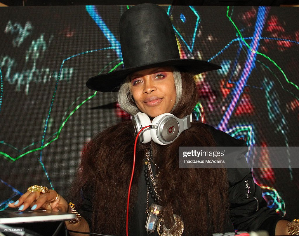 "Erykah Badu Spins At The ""Blackhouse"" After Party"