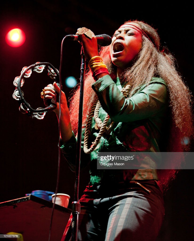 Erykah Badu performs during the Outside Lands Music Festival on August 12, 2011 in San Francisco, California.