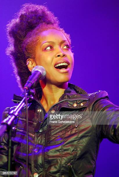 Erykah Badu performs live on stage at the North Sea Jazz Festival in Ahoy, Rotterdam, Netherlands on July 16 2006