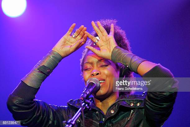 Erykah Badu, vocals, performs at the North Sea Jazz Festival in Ahoy on July 16th 2006 in Rotterdam, Netherlands.