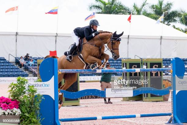 Erynn Ballard during the $70000 Hollow Creek 150M Classic at the Winter Equestrian Festival at The Palm Beach International Equestrian Center in...
