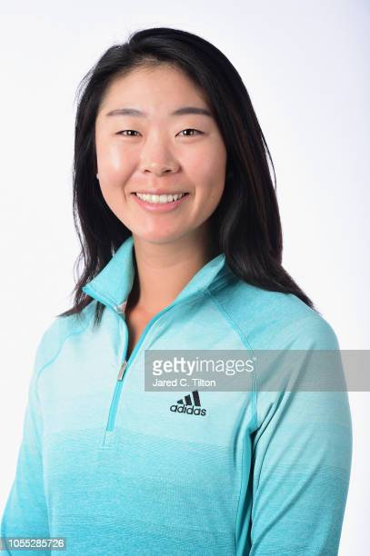 Erynne Lee poses for a portrait during the LPGA Q Series Head Shots session at Pinehurst Resort on October 29 2018 in Pinehurst North Carolina