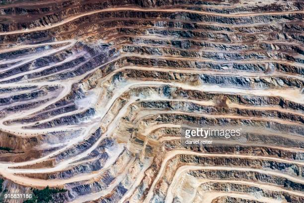 erzberg - iron ore stock photos and pictures