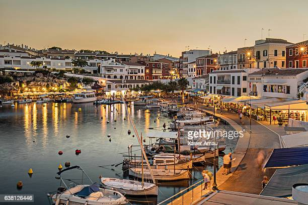 es castells town in menorca - spain stock pictures, royalty-free photos & images