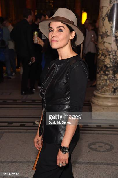 Es Devlin attends London Design Festival Party at The VA on September 21 2017 in London England