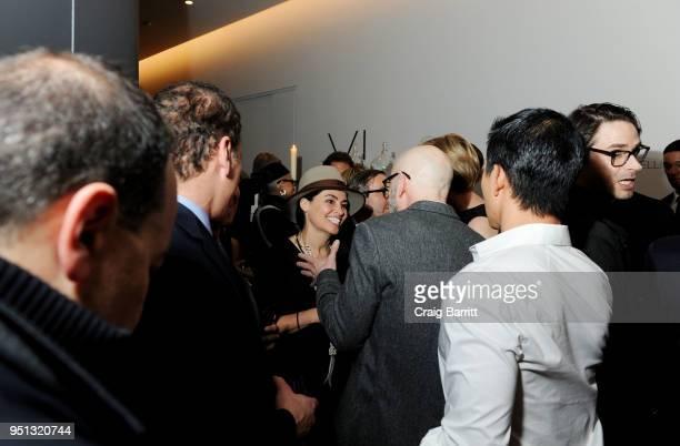 Es Devlin attends the opening of The XI Gallery With Bjarke Ingels Es Devlin and Helene Ziel Feldman on April 25 2018 in New York City