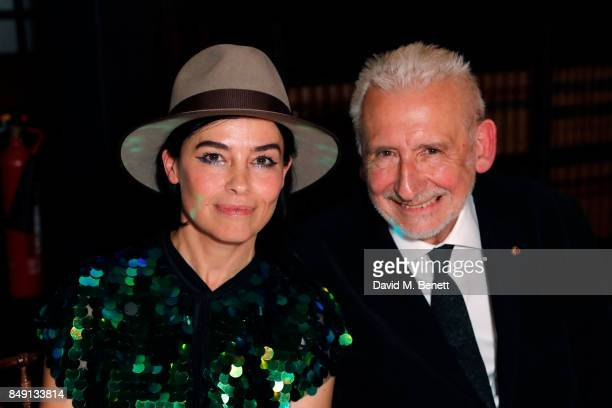 Es Devlin winner of The Panerai Lonon Design Medal and Chairman of London Design Festival Sir John Sorrell CBE attends London Design Festival's...