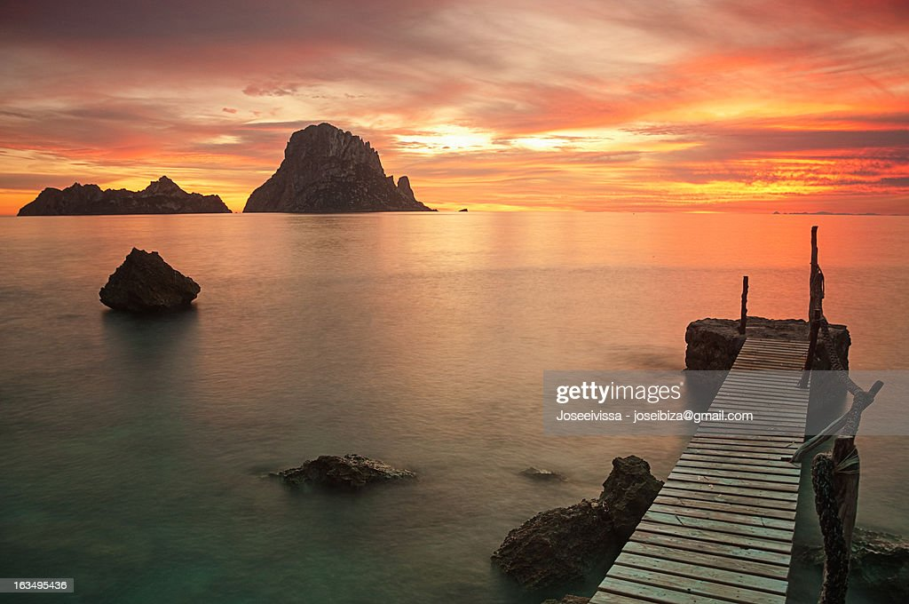 Es Vedrá al natural - Ibiza : Stock Photo