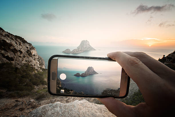 Es Vedra On Mobile Wall Art