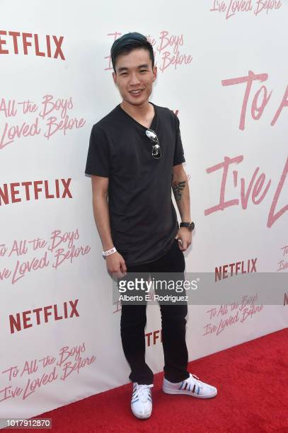 Esa Fung attends a screening of Netflix's 'To All The Boys I've Loved Before' at Arclight Cinemas Culver City on August 16 2018 in Culver City...