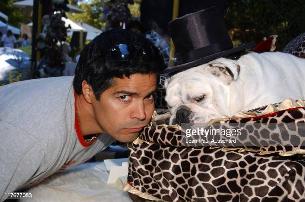 "Esai Morales at La Petite Maison during Silver Spoon Dog and Baby Buffet"" Benefitting Much Love Animal Rescue Day One at Private Residence in Beverly..."
