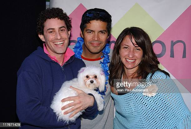 "Esai Morales at Samson Martin during Silver Spoon Dog and Baby Buffet"" Benefitting Much Love Animal Rescue Day One at Private Residence in Beverly..."