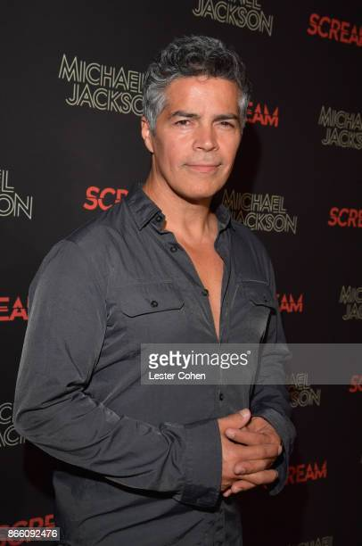 Esai Morales attends Michael Jackson Scream Album Halloween Takeover at TCL Chinese 6 Theatres on October 24 2017 in Hollywood California
