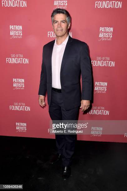 Esai Morales attends SAGAFTRA Foundation's 3rd Annual Patron of the Artists Awards at Wallis Annenberg Center for the Performing Arts on November 8...
