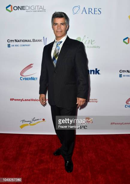 Esai Morales attends the 18th Annual Voices Of Our Children Fundraiser Gala And Awards Arrivals at Lowes Hollywood Hotel on September 29 2018 in...